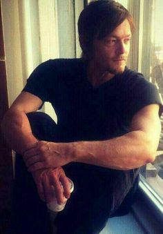 I just want to bask in the goodness that is Norman Reedus. I believe this is what they call the Norman Reedus effect. (Thank you to the Norman Reedus. The Walking Dead, Walking Dead Season, The Boondock Saints, Norman Reedus, Daryl Dixon, Hollywood, Stuff And Thangs, Raining Men, Man Alive