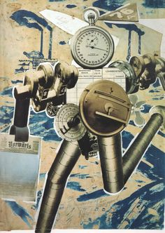 John Heartfield, Die Rationalisierung marschiert! [Rationalization is on the March!] Photomontage for Der Knüppel, no. 2, February 1927.