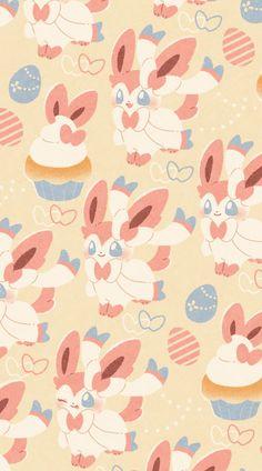 Pokemon Backgrounds, Cute Wallpaper Backgrounds, Cute Cartoon Wallpapers, Animes Wallpapers, Cute Pokemon Wallpaper, Cute Patterns Wallpaper, Kawaii Wallpaper, Fotos Do Pokemon, Pokemon Mignon