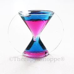 Timer  This is a colorful, liquid timer that can be used as a visual for students to know how much time is left before they are required to transition between activities.