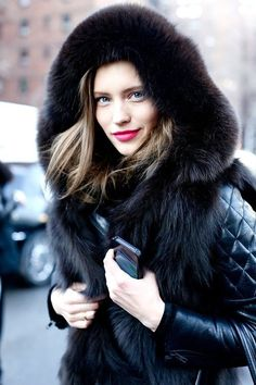 Street style fashion / karen cox. warm and sexy street style for winter