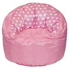 Idea Nuova Heart Toddler Bean Bag Chair