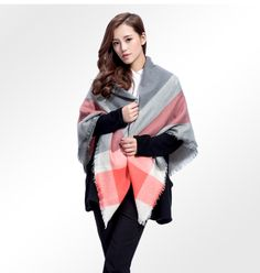 Brand Scarf Women Fashion Scarves Top quality Blankets Soft Cashmere Winter Scarf warm Square Plaid Shawl //Price: $27.99 & FREE Shipping //     #accessories #necklaces #pendants #earrings #rings #bracelets    FREE Shipping Worldwide     Buy one here---> https://www.myladyempire.com/brand-scarf-women-fashion-scarves-top-quality-blankets-soft-cashmere-winter-scarf-warm-square-plaid-shawl/