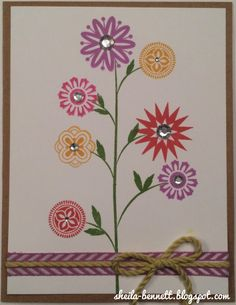 Sheila's Stamping Stuff: A Happy Hello (February SOTM Blog Hop)