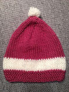 ♥ Das hab ich selbst gemacht ♥: Baby Mütze stricken