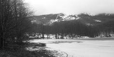 Frozen lake, Cerreto, Emiglia Romagna