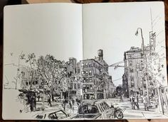 Patrick Vale: from sketchbook to grand scale | Urban Sketchers