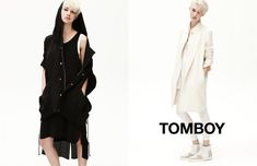 Harmony Boucher Keeps it Cool in Tomboys Spring 2013 Campaign