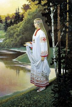"""Богиня весны и любви Леля у славян - """"Радогост"""""""