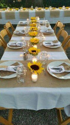 Best Wedding Reception Decoration Supplies - My Savvy Wedding Decor Wedding Table, Our Wedding, Dream Wedding, Trendy Wedding, Wedding Country, Fall Wedding, Wedding Themes, Country Dinner, Country Weddings