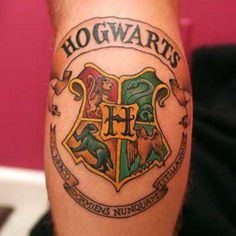 By far, the BEST collection of HP tattoos I've seen yet! The Most Magical Harry Potter Tattoos