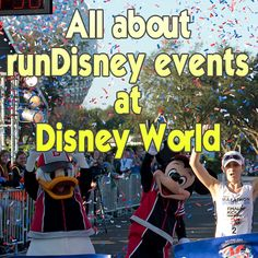 All about Disney World runDisney events, an interview with Matt from TeamRunDisney dot com - be sure to read the comments for some additional helpful information as well!