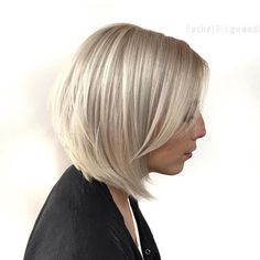 Ash Blonde Crimped Bob Hairstyle