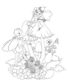 dark fairy to colour - Pesquisa Google