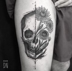 Skull Tattoo Designs and Ideas For Men For Women