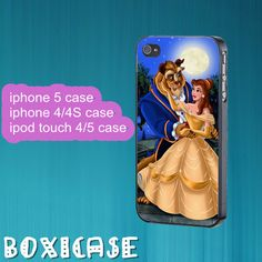 Beauty and the beast---iphone 4 case,iphone 5 case,ipod touch 4 case,ipod touch 5 case,in plastic,silicone and black,white. by Boxicase, $14.95