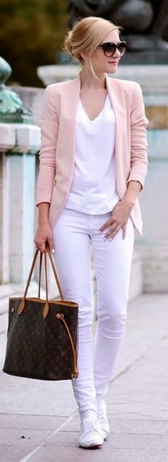 Clothes outfit for woman * teens * dates * stylish * casual * fall * spring * winter * classic * casual * fun * cute* sparkle * summer *Candice Wicks Komplette Outfits, Blazer Outfits, Office Outfits, Stylish Outfits, Fashion Outfits, Work Outfits, Winter Outfits, Casual Office, Blazer Dress