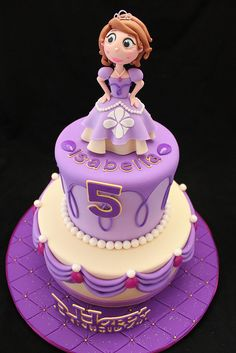 Sofia the First Cake | Flickr - Photo Sharing!