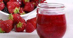 A simple Quick fruit jam recipe for you to cook a great meal for family or friends. Buy the ingredients for our Quick fruit jam recipe from Tesco today. Jello Recipes, Jam Recipes, Cookbook Recipes, Sweet Recipes, Cooking Recipes, Passion Fruit Juice, Fruit Jam, Chutneys, Tesco Real Food