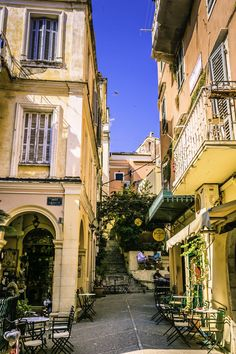 Explore Corfu, Greece.