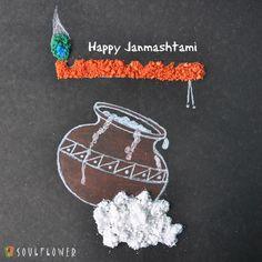 Happy Janmashtami All ! Janmashtami Wishes, Happy Janmashtami, Krishna Janmashtami, Janmashtami Quotes, Janamashtami Decoration Ideas, School Decorations, Festival Decorations, Board Decoration, Baby Krishna