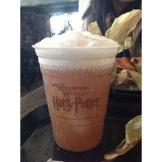 Wizarding World of Harry Potter-Hogsmeade ❤ liked on Polyvore featuring food