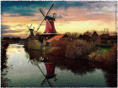 Greetsiel    a romantic fishing village ( North Sea)