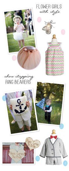 Cute Flower Girl & Ring Bearer ideas