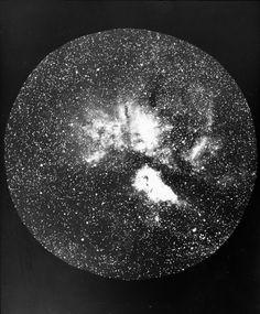 Constellation Carina with nebulosity in the vicinity of the star Eta Carinae. Photographed at Harvard's Boyden Observatory, Bloemfontein, South Africa. Undated.