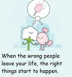 Wrong people leave
