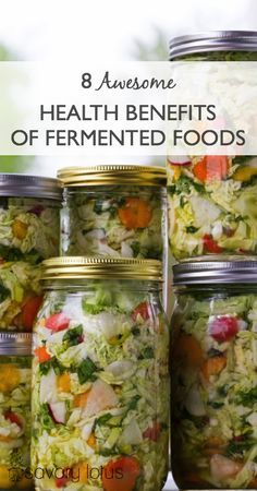 8 Awesome Health Benefits of Fermented Foods -  www.savorylotus.com