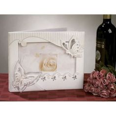 Wedding Butterfly Theme Guest Book