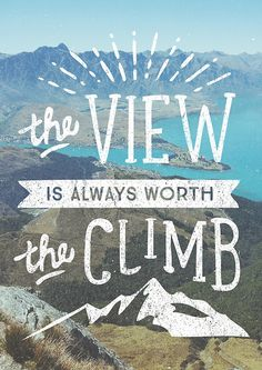 """""""WORTH THE CLIMB"""" by cabinsupplyco   Redbubble"""