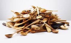 Pile of spoons.