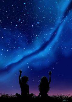 Eu amo as estrelas, pra falar a verdade, eu amo tudo que está longe.