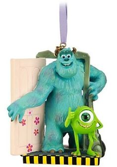 1 X Disney/Pixar Limited Edition Monsters, Inc. Sulley and Mike Sketchbook Ornament Officially licensed Disney/Pixar merchandise Fully sculptured figural ornament - Hand painted Freestanding for desk or tree display Limited Edition Super cute Disney Christmas Ornaments, Peanuts Christmas, Hallmark Ornaments, Xmas Ornaments, Christmas Decorations, Christmas Stuff, Christmas Tree, Coastal Christmas, Christmas Ideas