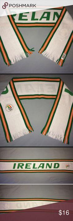 34c6c2e58f6 Vintage Ireland soccer scarf world Cup USA 1994 ➡️Vintage IRELAND soccer  scarf.. world