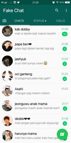 Fake chat❤ Your story how to be a mom if Ben is your husband # Fiksi Penggemar # amreading # books # wattpad Quotes Rindu, Text Quotes, Mood Quotes, Message Quotes, Funny Black Memes, Memes Funny Faces, Whatsapp Group Funny, Free Text Message, Cover Wattpad