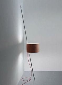 lift lamp - fernando prado - lumini -2009 George House, Library Design, Light Installation, Pendant Lamp, Lamp Light, Home Projects, Wall Sconces, Lighting Design, Floor Lamp