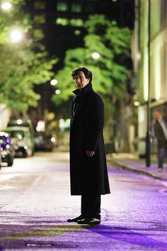 There's only one consulting detective in this world. Fortunately, he's my favourite.