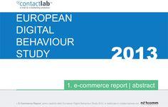 Gli Italiani e lE-commerce, crescono gli acquisti via Mobile