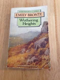 This is one of my two all time fav novels (the other is Heller's Catch 22). Probably one of the darkest & grittiest books I've ever read, which brilliantly unravels the complexities of love. No sweetness & light here. Withering Heights; Emily Bronte.