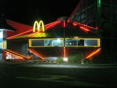 If you want to enjoy an extraterrestrial McDonalds dinner you should go to Roswell, New Mexico.
