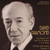 David Diamond: String Quartets, Vol. 4 [CD]