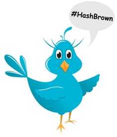 Twitter Hashtag 101:  Hashtag, Hashbrown - same thing, right?