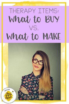Speech therapy materials: what an SLP should buy versus what an SLP should make. Great ideas for simple and affordable speech therapy activities and materials.