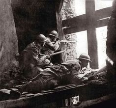 French soldiers at Verdun.