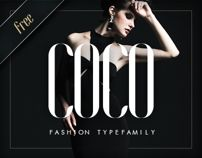 COCO - Free Fashion Typefamily by Hendrick Rolandez, via Behance Wavy Font, Coco Fashion, Behance, Print Layout, Cool Fonts, Interactive Design, Motion Design, Graphic Design Inspiration, Typography