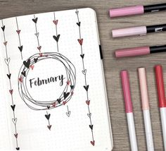"""""""the wait is over! my february plan with me + bullet journal setup is live! spolier alert: there…"""" """"the wait is over! my february plan with me + bullet journal setup is live! spolier alert: there…"""" Bullet Journal Inspo, Journal D'inspiration, Minimalist Bullet Journal, February Bullet Journal, Bullet Journal Cover Page, Bullet Journal 2020, Bullet Journal Aesthetic, Bullet Journal Notebook, Bullet Journal Ideas Pages"""