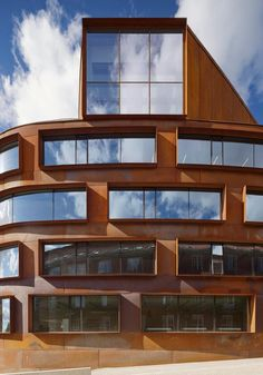 NEW SCHOOL OF ARCHITECTURE, ROYAL INSTITUTE OF TECHNOLOGY (KTH) by Tham and Videgård Arkitekter